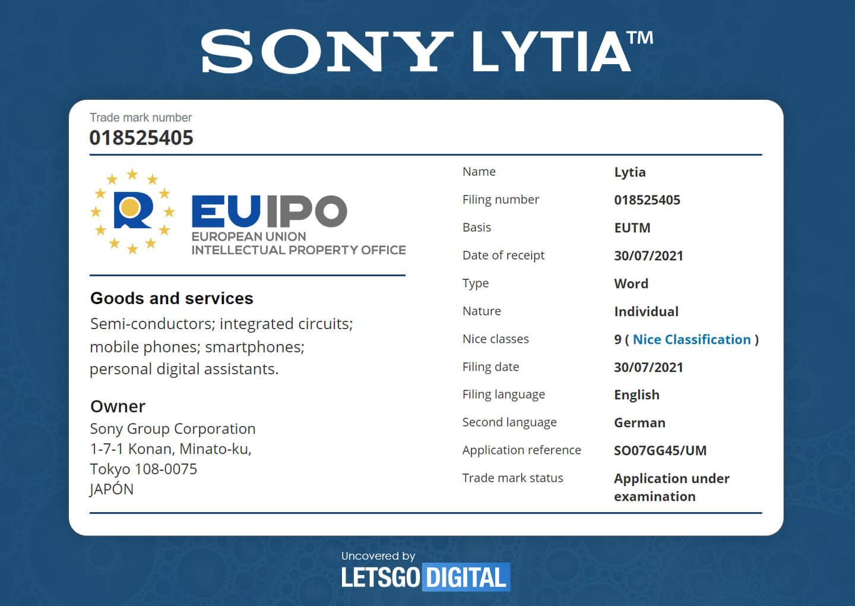 Sony Lytia mobile imaging