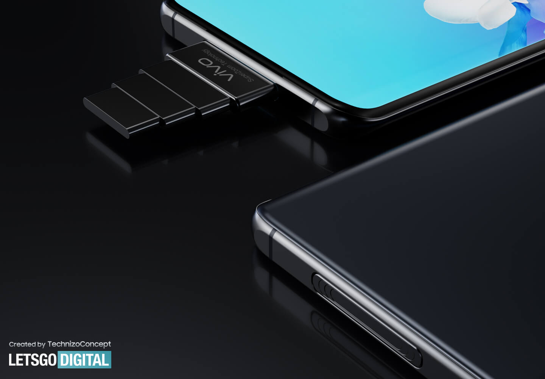 Vivo smartphone pop-up camera