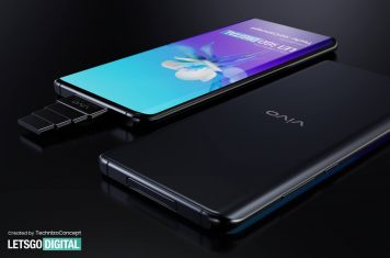 Vivo smartphone superzoom pop-up camera