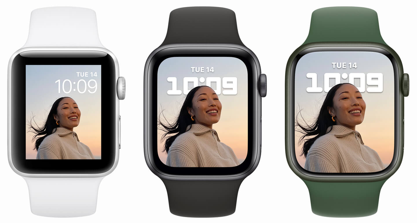 Apple Watch 7 groter display