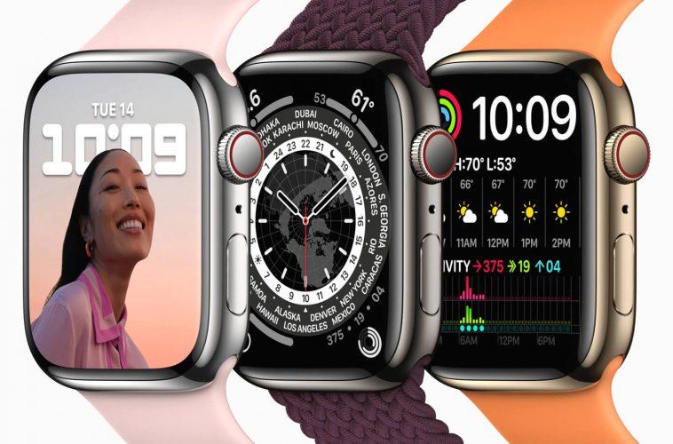 Apple Watch Series 7 smartwatch