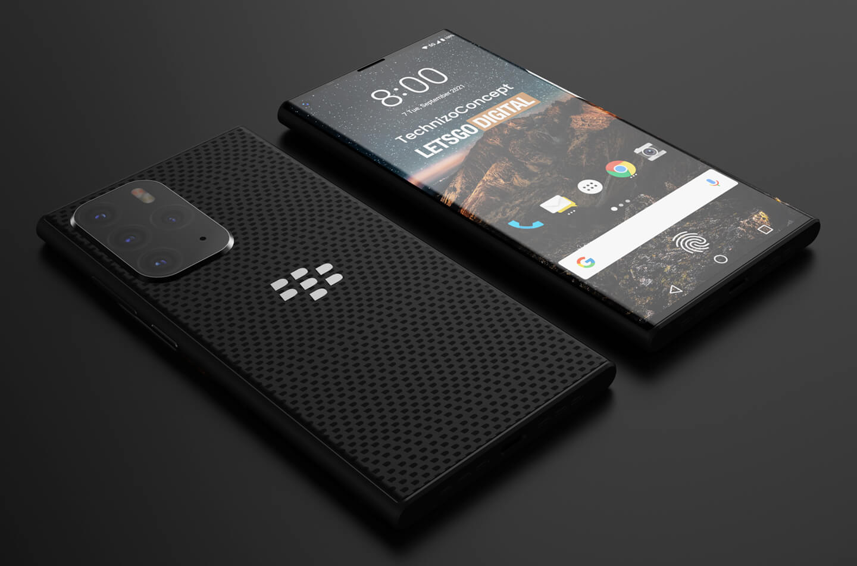 Blackberry 5G smartphone