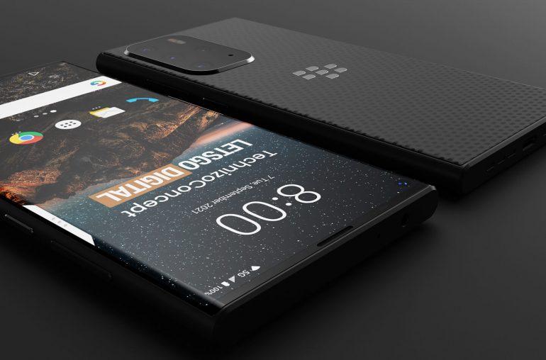 Blackberry Evolve X2 5G smartphone