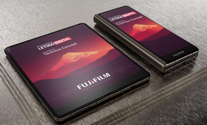 Fujifilm vouwtelefoon