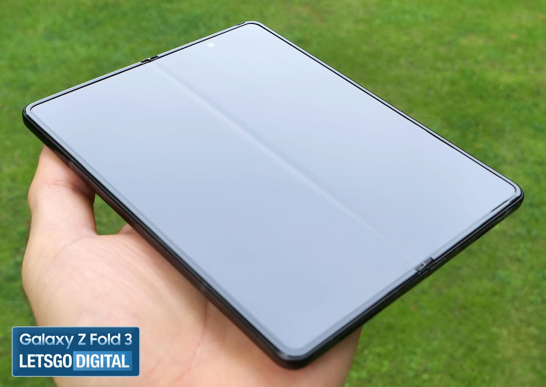 Galaxy Z Fold 3 vouwnaad