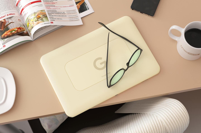 Google Pixel tablet design