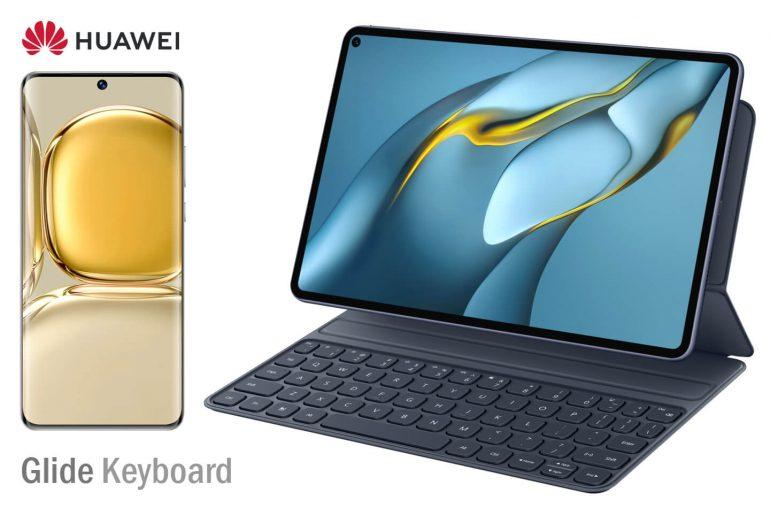 Huawei Glide Keyboard smartphone tablet