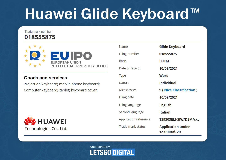 Huawei Glide Keyboard