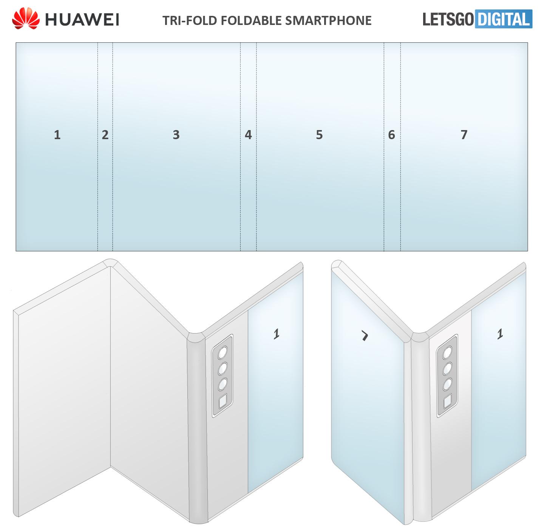 Huawei Mate Tri-Fold smartphone