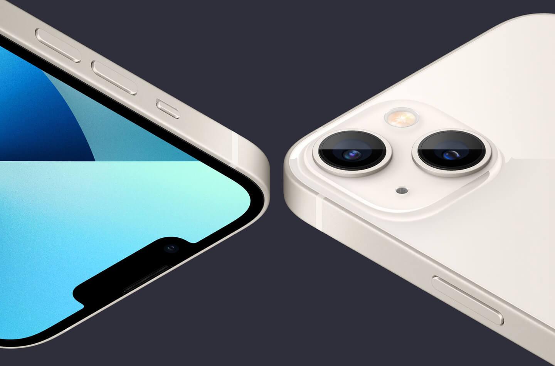 iPhone 13 dual camera
