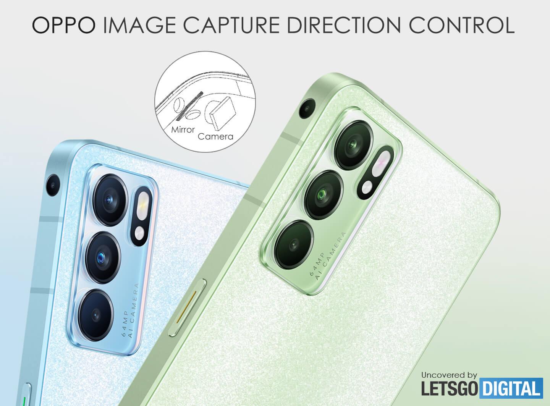 Oppo multi-directional camera
