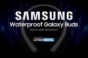 Samsung Galaxy Buds waterdichte oordopjes