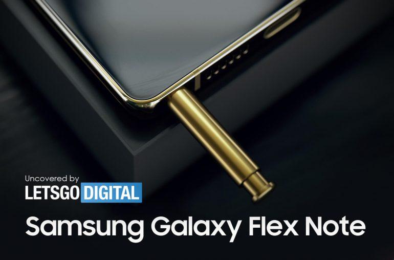 Samsung Galaxy Flex Note opvouwbare smartphone