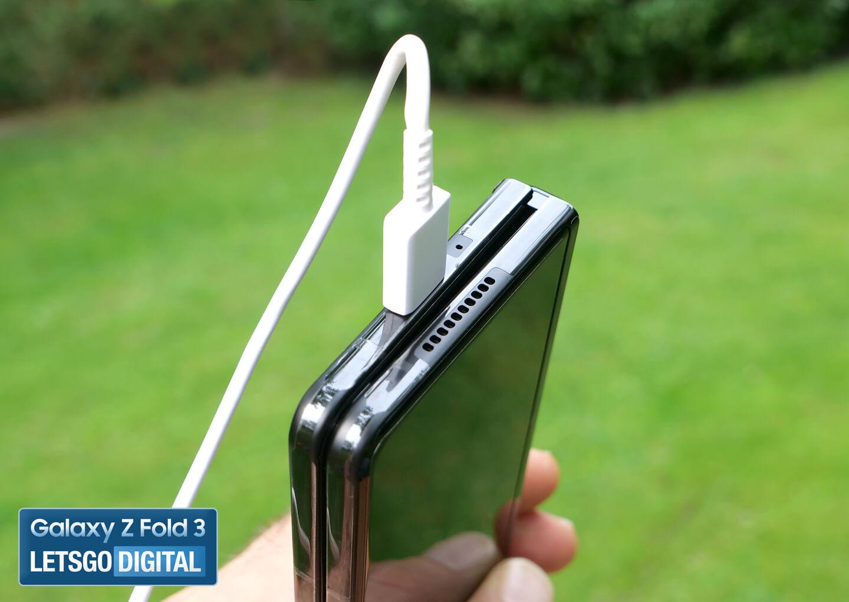Samsung Galaxy Z Fold 3 batterij