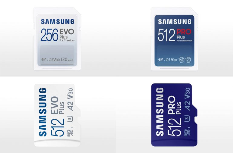 Samsung MicroSD geheugenkaarten