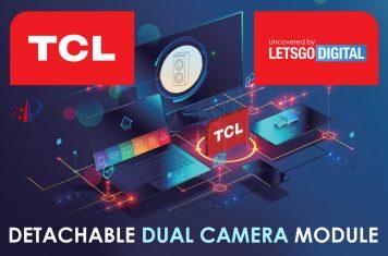 TCL smartphone afneembare dual-camera