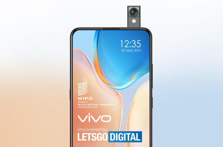 Vivo smartphone dubbelzijdige pop-up camera