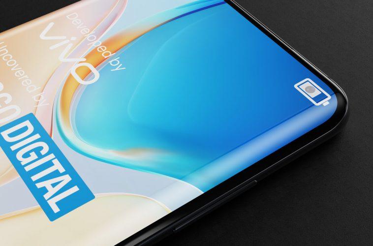 Vivo smartphone onzichtbare camera