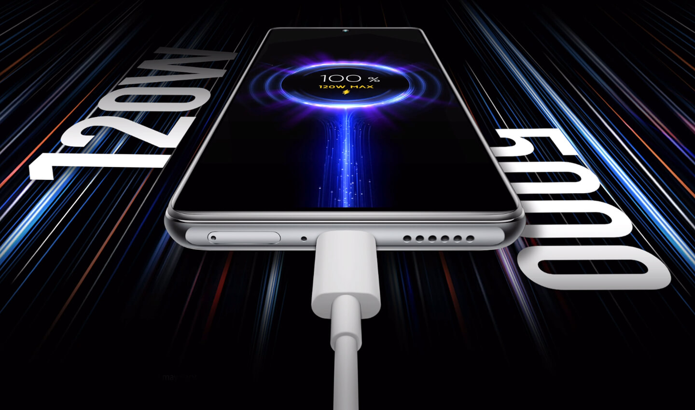 Xiaomi 11T Pro 120w oplader