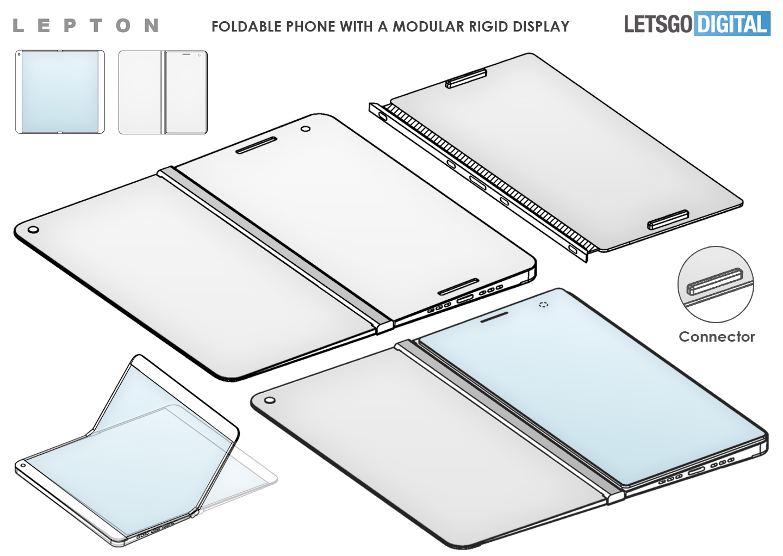 Lepton Flex foldable smartphone