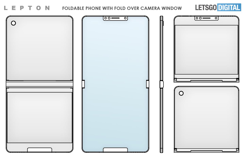 Lepton Flip foldable smartphone
