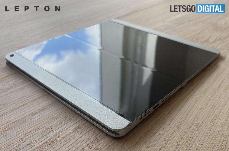 Lepton opvouwbare smartphones Apple iPhone