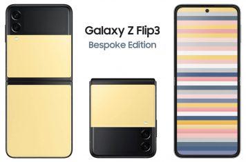 Samsung Galaxy Z Flip 3 Bespoke Edition